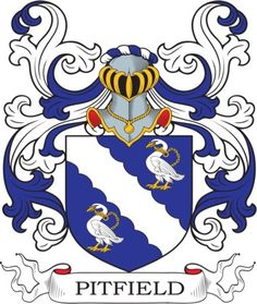 Pitfield Family Crest and Coat of Arms