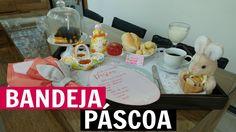 BANDEJA DE CAFÉ DA MANHÃ PÁSCOA