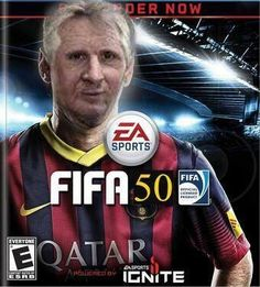Ever wondered what the next generation of fifa will look like? Haha!!