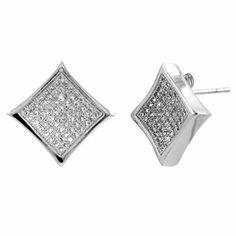 Deacon's Stud Earrings - Silver