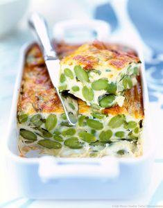 Accompagné d'une salade verte, ce clafoutis salé sera parfait pour une soirée télévision ou un apéritif dînatoire.