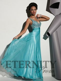 A fabulous evening gown from Eternity Prom.