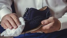 Look sharp with these tips for treating different materials. Shoe Last, Patrick Dempsey, Adidas Stan Smith, Types Of Shoes, Your Shoes, Front Row, Adidas Sneakers, Menswear, Louis Vuitton