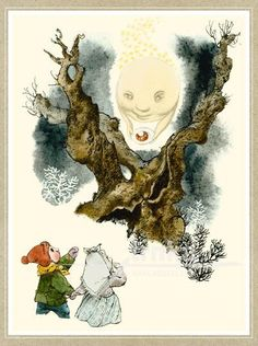 Reprodukce Pohádka o Smolíčkovi - Jiří Trnka Winter Fairy, Book Illustration, Illustrations, Animation Film, Fairy Tales, Sketches, Watercolor, Cartoon, Drawings