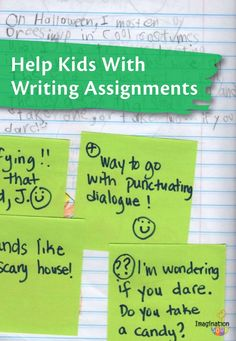 Writing assignments service in math students
