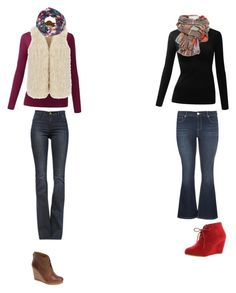 Untitled #116 by tigergirl121 on Polyvore featuring polyvore, fashion, style, maurices, Frame Denim, Lucky Brand and ANNA