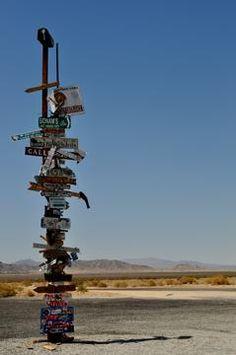 Randomness in the desert