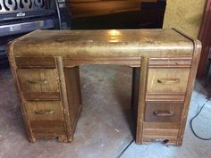 What Would You Do W/this Desk? Pass or Fix It? See How I Fixed It!