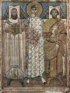 San Demetrio de Salónica, mosaicos s. VII. Salónica (Grecia). Meister der Demetrius-Kirche in Saloniki 002 - Pintura bizantina - Wikipedia, la enciclopedia libre