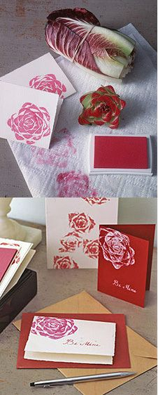 #DIY - Vegetable #stamp