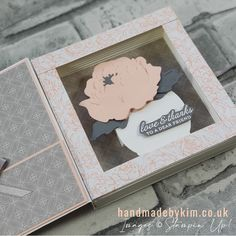 Stampin' Up! Demonstrator Kim Price : Peony Garden Suite Fun Team Games, Book Design, My Design, Peonies Garden, Anniversary Cards, I Fall In Love, Shadow Box, Peony, Your Cards
