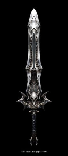 Ok, not a Character, but I'd bet R'llika's daggers this sword is sentient. F'ing sick.