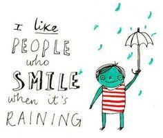 Love the rain too!