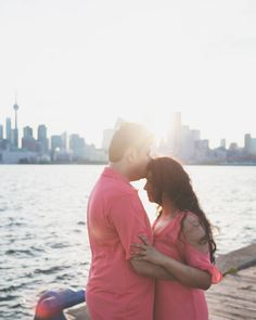Toronto engagement session at Cherry Beach / The Docks by Shelby Morell Photography Wedding Engagement, Engagement Session, Engagement Photography, Warm Weather, Toronto, Cherry, Couple Photos, Beach, Instagram Posts