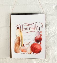 2014 Watercolor Calendar | Gifts Cards & Stationery | sewindieshop | Scoutmob Shoppe | Product Detail