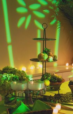 Margarita theme event design for networking party by Richard Abrahamson of RJA Design