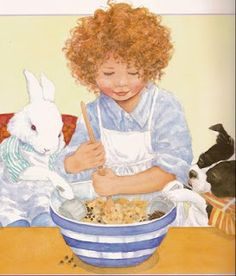 Jane Dyer, a beloved children's book illustrator, beautifully captures the innocence of childhood in every picture.