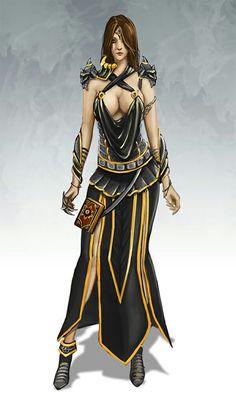 Female Sorcerer - Pathfinder RPG PFRPG DND D&D d20 fantasy