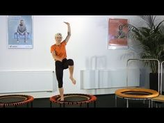 Übungsprogramm für Fitness und Koordination auf dem bellicon Trampolin