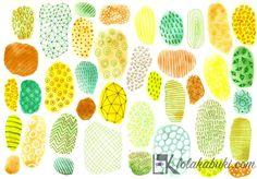 Diferentes texturas y motivos decorativos, como ejercicio creativo para desarrollar la capacidad de componer diferentes soluciones para llenar espacios. #watercolor, #acuarela, #tinta, #ink, #texturas
