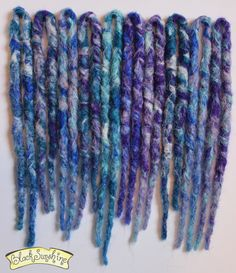 Chunky crochet synthetic dreads by Black Sunshine