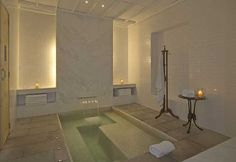 Spa Spy: The Baths Spa at Amangalla Sri Lanka Spa Interior Design, Spa Design, House Design, Luxury Shower, Luxury Spa, Relaxation Room, Relaxing Room, Spa Rooms, Home Spa