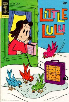 Little Lulu Dell/Gold Key) comic books Vintage Cartoon, Vintage Comics, Vintage Books, Cartoon Art, Old Children's Books, Kid Books, Funny Toons, Best Comic Books, Film D'animation