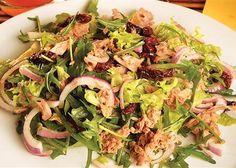 Salata od tunjevine i sušenog paradajza (posno)