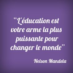 #Citation #Mandela #Wondercity #quote #mot #education