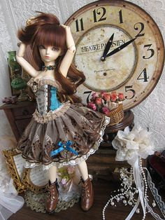 BJDs n Things — Petite Precieuse – Terracotta by ~ Eglantine ~ on...