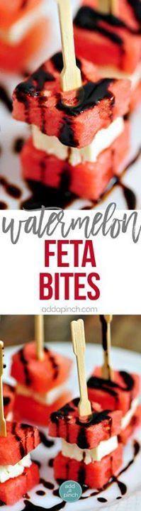 Watermelon Feta Appe Watermelon Feta Appetizer Bites Recipe...  Watermelon Feta Appe Watermelon Feta Appetizer Bites Recipe Recipe : http://ift.tt/1hGiZgA And @ItsNutella  http://ift.tt/2v8iUYW