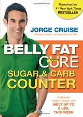 """The Belly Fat Cure"" book by Jorge Cruise"