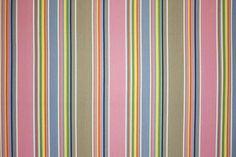 Pink Striped Fabrics | Striped Curtain Fabrics | Upholstery Fabrics - Squash Stripes
