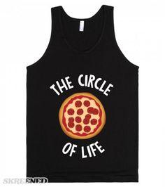 Circle Of Life Pizza (dark)