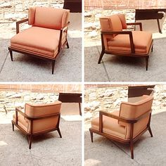 #MidCentury #EdwardWormley #Dunbar Style Chair- Pricing & Info @Link below.    Rocket Century  - St. Louis, MO