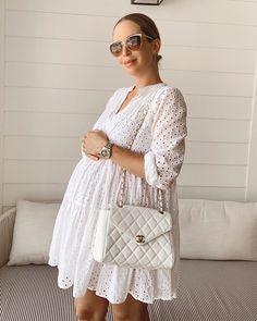 Five Tips I've Learned for Dressing the Bump (Brooklyn Blonde) Cute Maternity Outfits, Stylish Maternity, Maternity Wear, Maternity Dresses, Maternity Fashion, Brooklyn Blonde, Pregnancy Wardrobe, Pregnancy Outfits, Estilo Baby Bump