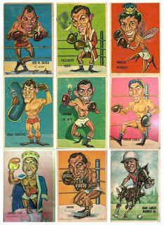Tarjetones Sport 1967 #143 al #151