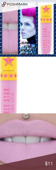 💄GORGEOUS! JEFFREE STAR LIPS IN VIRGINITY (PINK) 💄MY PICK!! Gorgeous matte finish. Liquid lipstick lasts hours. 💄Virginity is a baby pink 💄New sealed in box 💄BUNDLE N SAVE!!! 💄MAKE OFFERS! Jeffree Star Makeup Lipstick