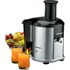 I love my Cuisinart Juicer...try juicing apples, carrots, beet roots, ginger root & lemons....it will wake you up and make you feel 100% great!