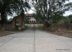 Abandoned Howey mansion,Howey-In-The-Hills, Florida
