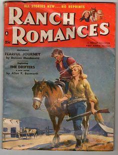 Ranch romances western pulp magazine