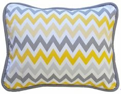 New Arrivals Inc Mellow Yellow Throw Pillow