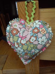 Liberty fabric heart