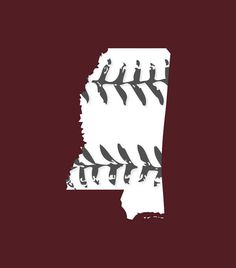 Mississippi baseball Mississippi state colors or red, white and blue Buy Any 3 Shirts Get 1 FREE on Etsy, $14.99
