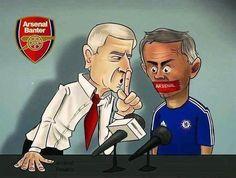 Trener Arsenalu Londyn odegrał się na rywalu • Arsene Wenger zamknął usta Jose Mourinho na konferencji prasowej • Wejdź i zobacz >> Arsenal Pictures, Arsene Wenger, North London, Arsenal Fc, Portrait Photo, Premier League, Soccer, Football, Baseball Cards