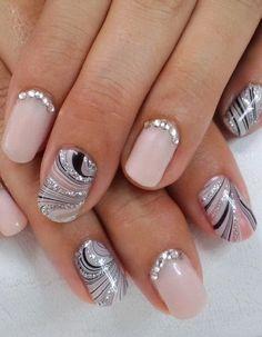 Elegant Nail Designs 42 #nailart