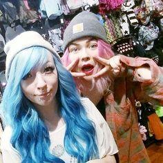 Huomenna pääsee taas shoppailemaan klo 9:00! ♥ #shopping #scarf #beanie #snapback #bluehair #pastelhair #mermaidhair #pinkhair #alternative #piercedgirls #piercing #cybershop #cybershopkamppi #kamppi Pastel Hair, Pink Hair, Blue Hair, Piercings For Girls, Mermaid Hair, Cyber, Snapback, Alternative, Beanie
