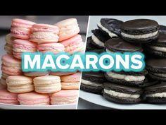 Macarons 4 Ways - YouTube