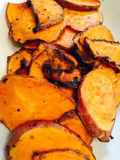 Honey and Rosemary Sweet Potato Chips