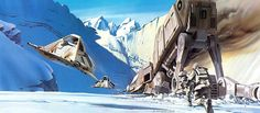 Original Star Wars Storyboard Illustration